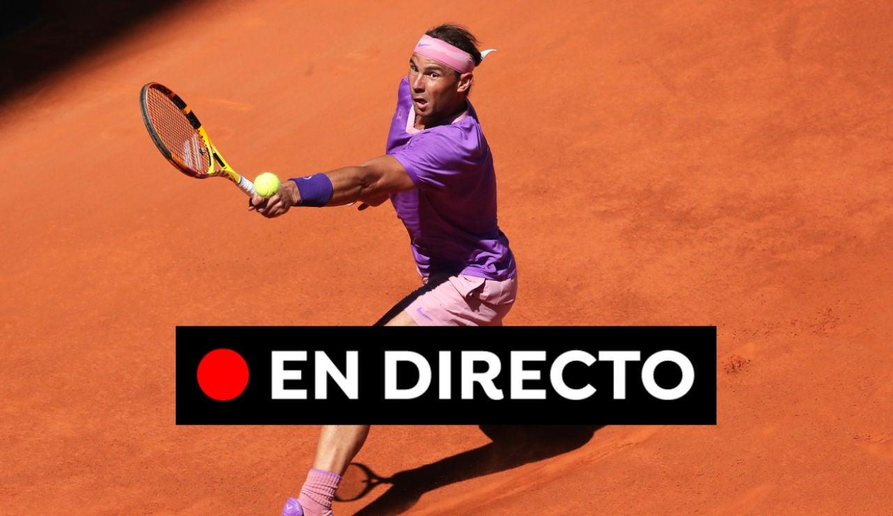 Rafa Nadal - Alexander Zverev: Partido de tenis del Mutua Madrid Open 2021, en directo