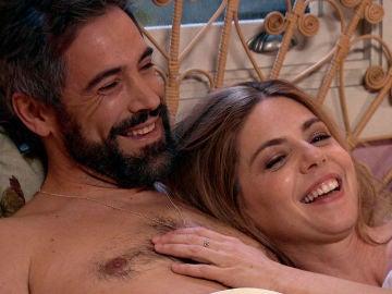 Maica y Gorka recuerdan su historia de amor tras una noche de pasión