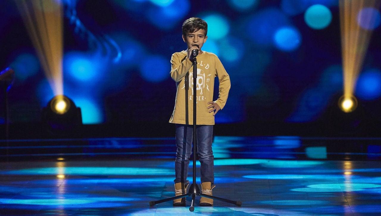 Carlos Prieto canta 'Estoy enamorado' en las Audiciones a ciegas de 'La Voz Kids'