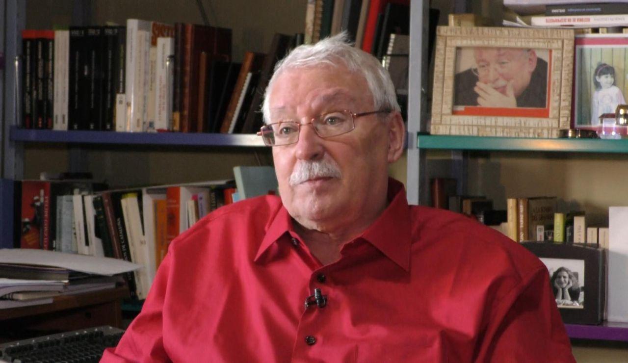 Joaquín Leguina durante su entrevista en Espejo Público
