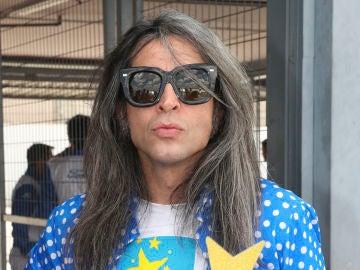 Mario Vaquerizo presume de canas