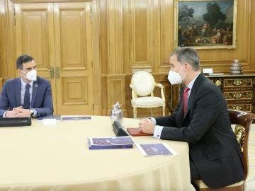 Reunión entre Pedro Sánchez y el rey