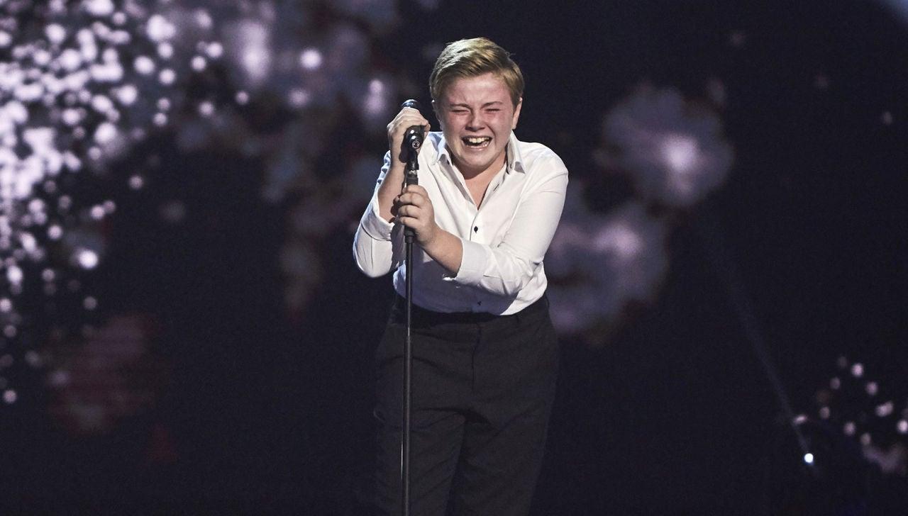 Ferrán Amador rompe a llorar cantando 'Creep' en las Audiciones a ciegas de 'La Voz Kids'