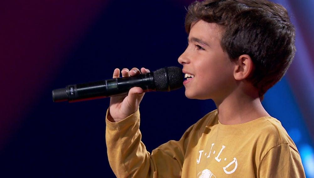 Carlos Prieto enamora cantando con Vanesa Martín y Rosario por Manzanita en 'La Voz Kids'