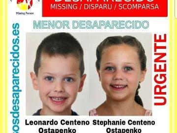 Buscan a dos hermanos de 5 y 6 años desaparecidos desde enero en Málaga