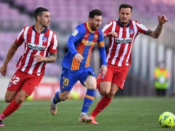 Atlético de Madrid y Barcelona se reparten un punto y permiten al Real Madrid depender de sí mismo