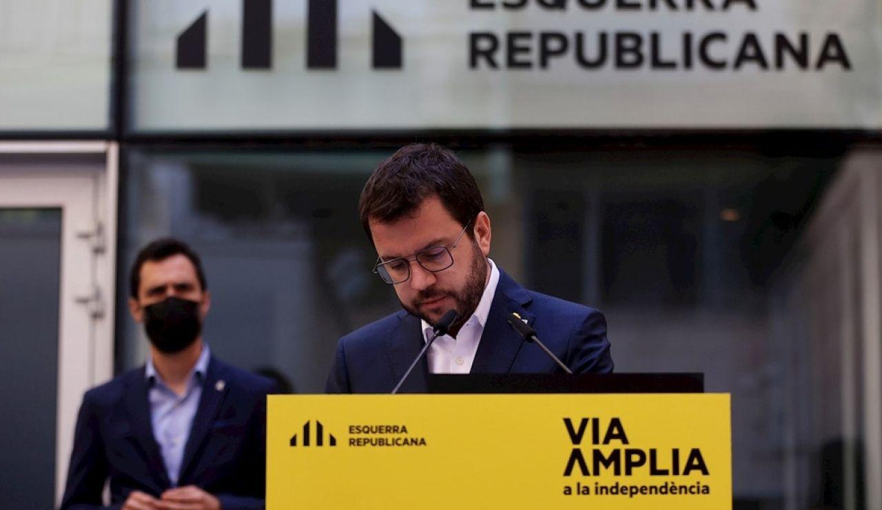 LaSexta Noticias Fin de Semana (08-05-21) Pere Aragonès intentará gobernar en solitario en Cataluña ante la imposibilidad de llegar a un acuerdo con Junts