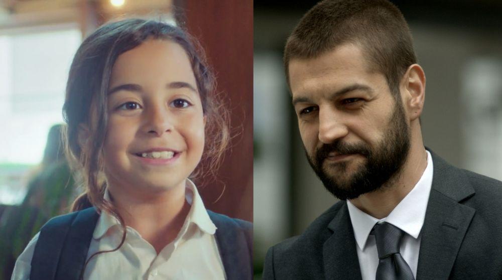 Beren Gökyıldız y Serhat Teoman en 'Mi hija'