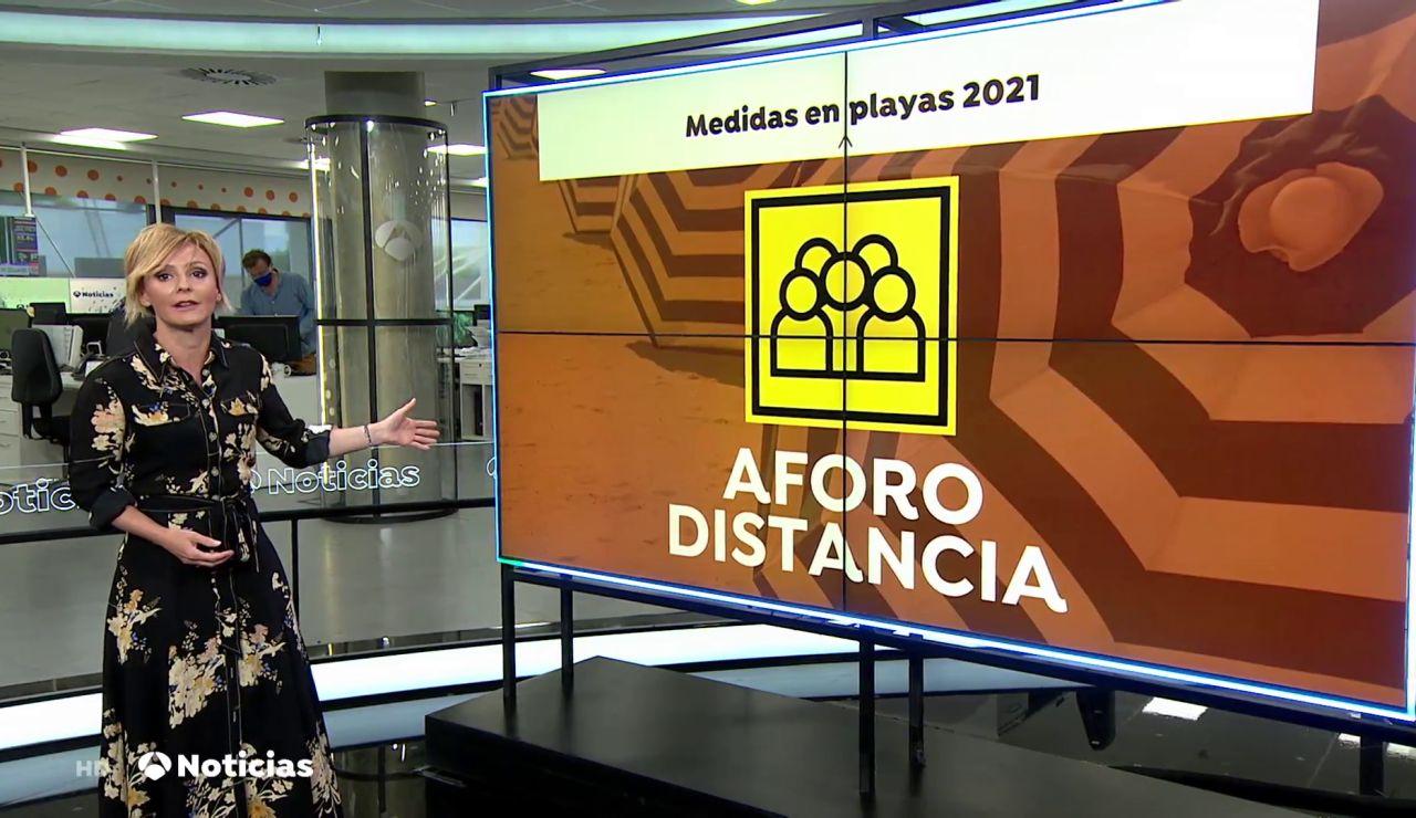 Las medidas para garantizar la seguridad contra el coronavirus en las playas españolas este verano