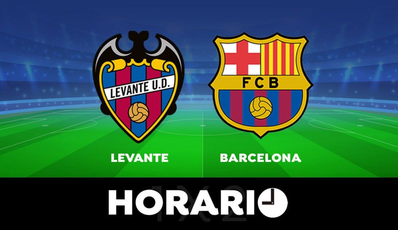 Levante - Barcelona: Horario y dónde ver el partido de la Liga Santander en directo