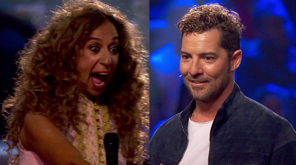 Samira Cuesta derrite a David Bisbal y Rosario imitando sus famosos bailes en 'La Voz Kids'