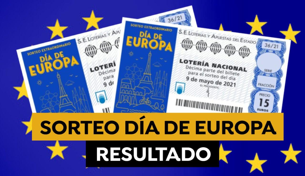 Comprobar Lotería Nacional: Resultado del Sorteo Extraordinario del Día de Europa hoy 9 de mayo