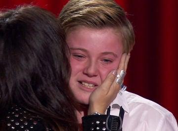 Ferrán Amador explica sus lágrimas en 'La Voz Kids'