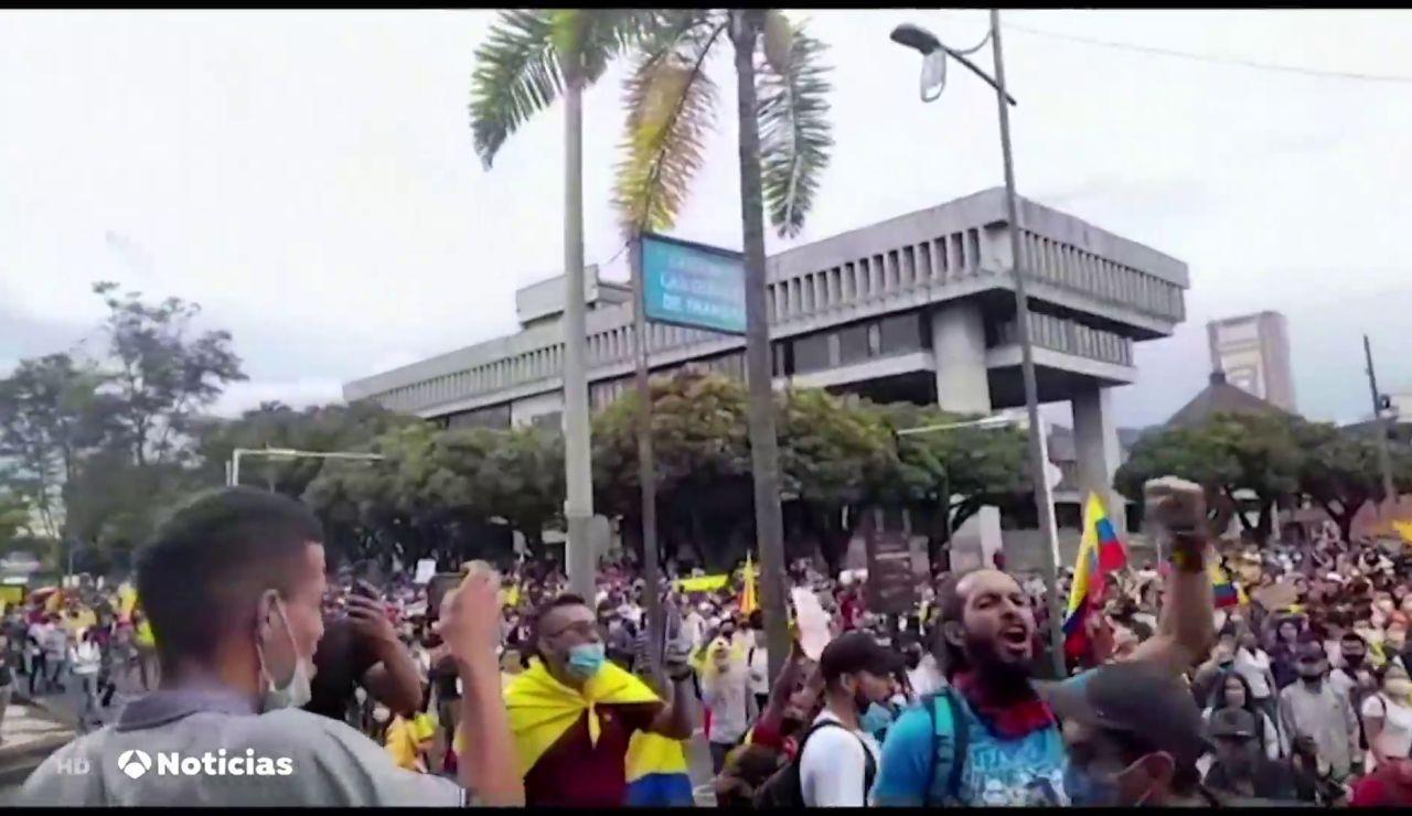 Las protestas contra el Gobierno de Iván Duque provocan el desabastecimiento en Colombia