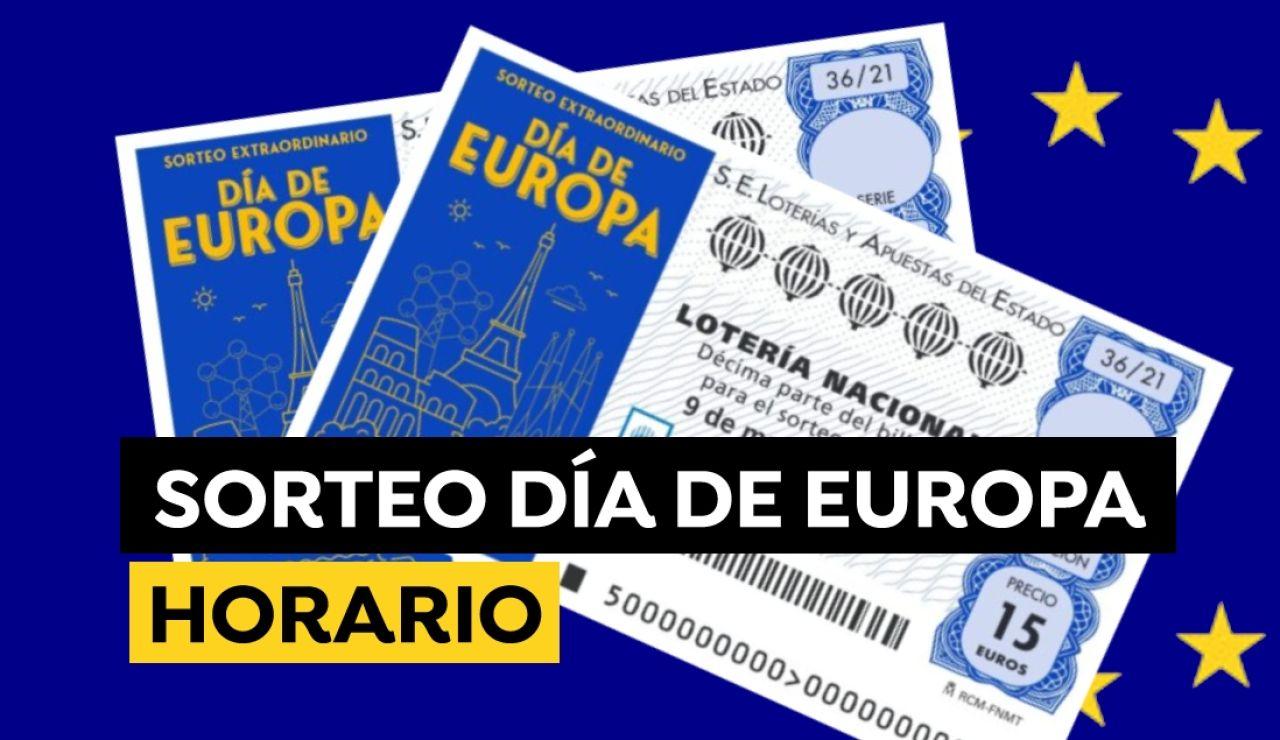Sorteo Extraordinario del Día de Europa 2021: Horario y dónde ver el sorteo de la Lotería Nacional hoy  9 de mayo