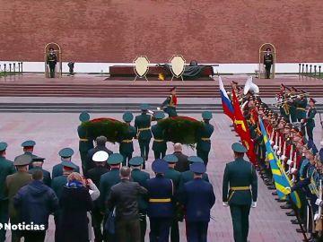 """Putin reafirma el poderío de Rusia y advierte a los que gestan """"planes agresivos"""" en el Día de la Victoria"""