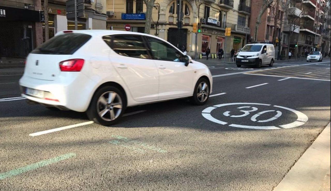 La limitación a 20 y 30 km/h en todas las vías urbanas entra en vigor mañana
