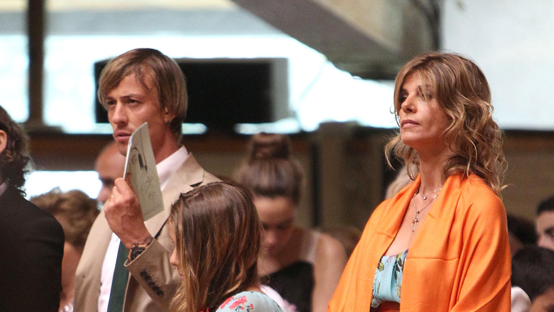 Guti y Arancha de Benito con su hija Zayra Gutiérrez