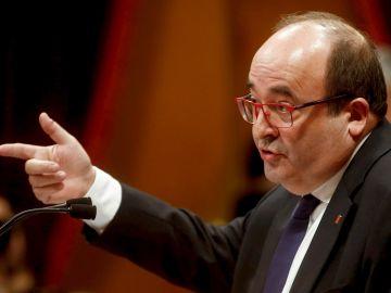 Miquel Iceta, ministro de Política Territorial