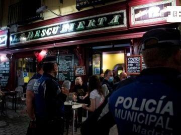 Bar en Madrid