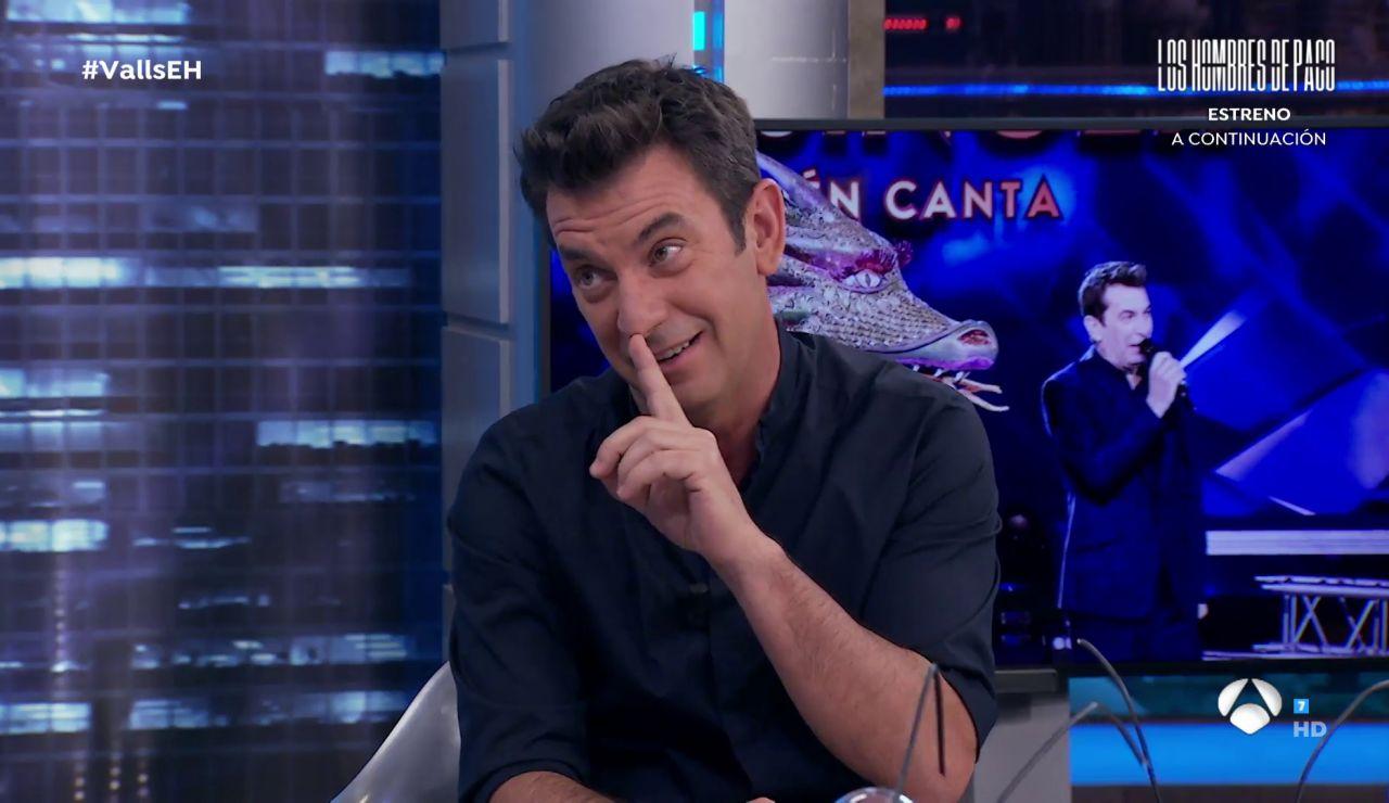 Arturo Valls anuncia en 'El Hormiguero 3.0' que 'Mask Singer' se estrena el próximo lunes
