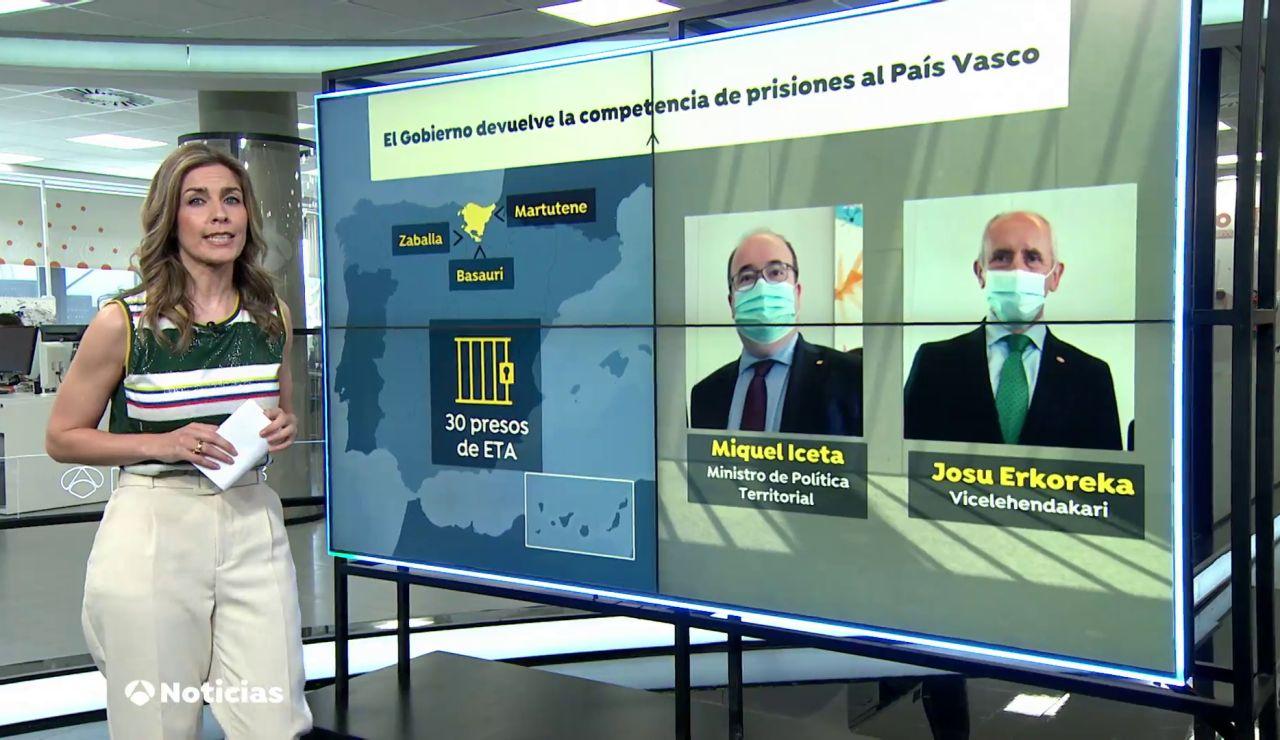 El Gobierno vasco y central firman el traspaso de prisiones a Euskadi el 1 de octubre
