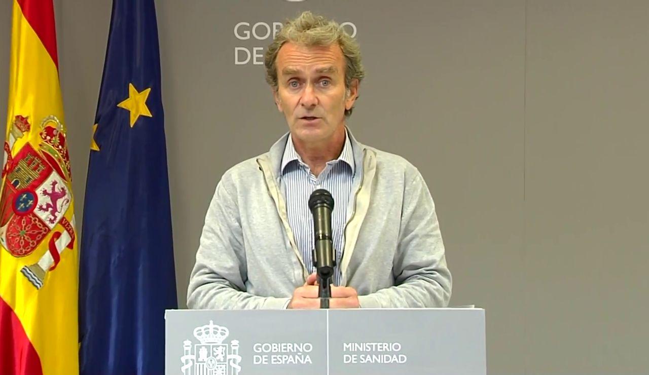 """Fernando Simón, """"decepcionado"""" por las aglomeraciones sin estado de alarma: """"Tenemos mucho coronavirus"""""""