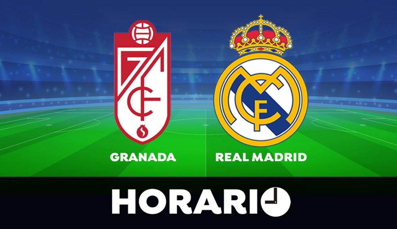 Granada - Real Madrid: Horario y dónde ver el partido de la Liga Santander en directo