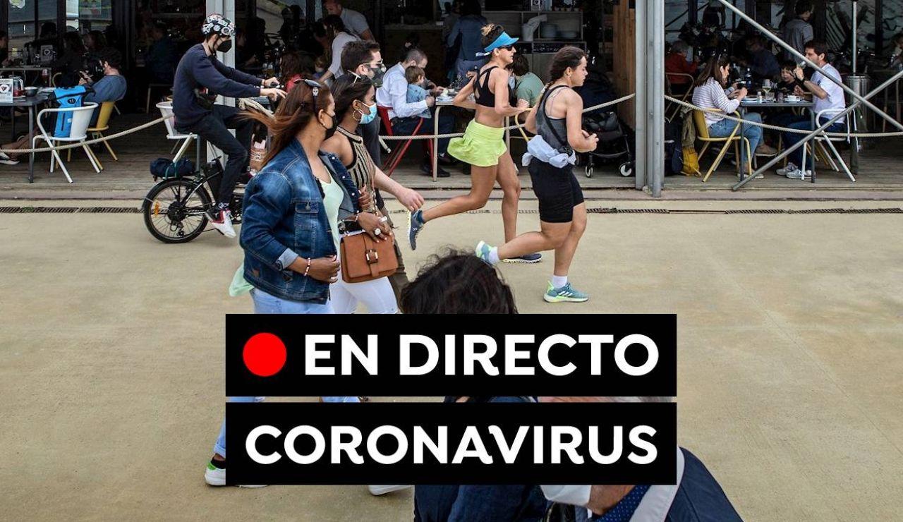Coronavirus España hoy: Última hora de las nuevas restricciones, vacunas y fin del estado de alarma, en directo