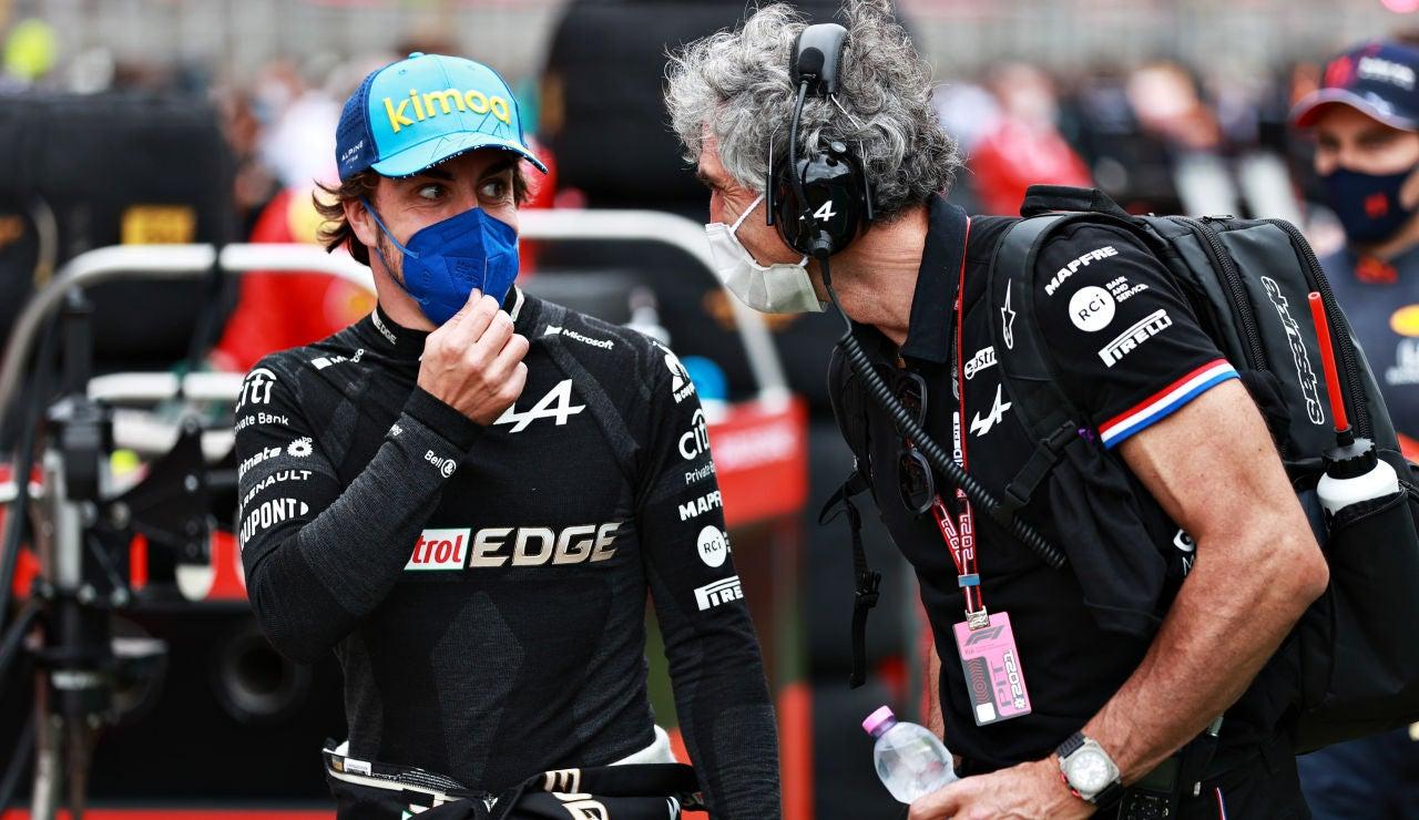 """Fernando Alonso: """"El Alpine será realmente rápido en Mónaco"""""""