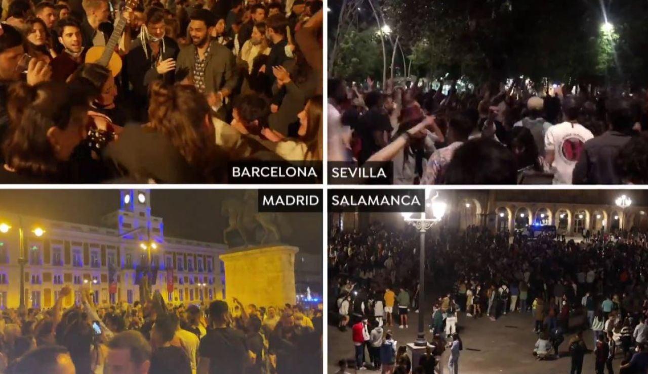 Fiestas en toda España