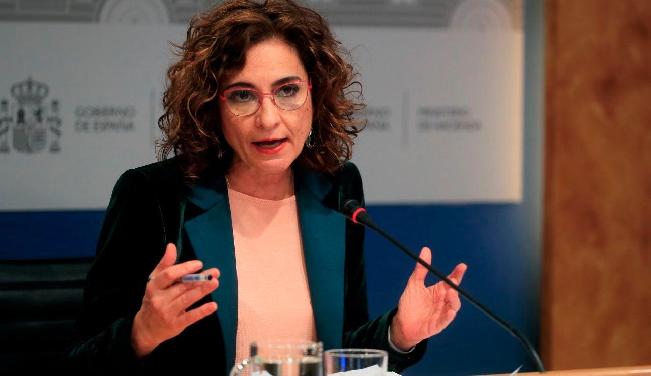Ministra de Hacienda María Jesús Montero