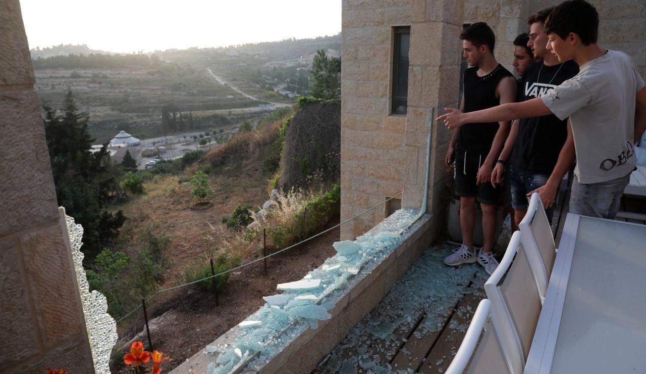Nueve muertos, entre ellos tres niños, en un bombardeo israelí en la Franja de Gaza