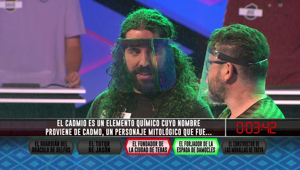 Los 'Libérrimos' se juegan el pleno con un personaje mitológico en '¡Boom!'