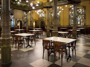 interior de un bar en Navarra