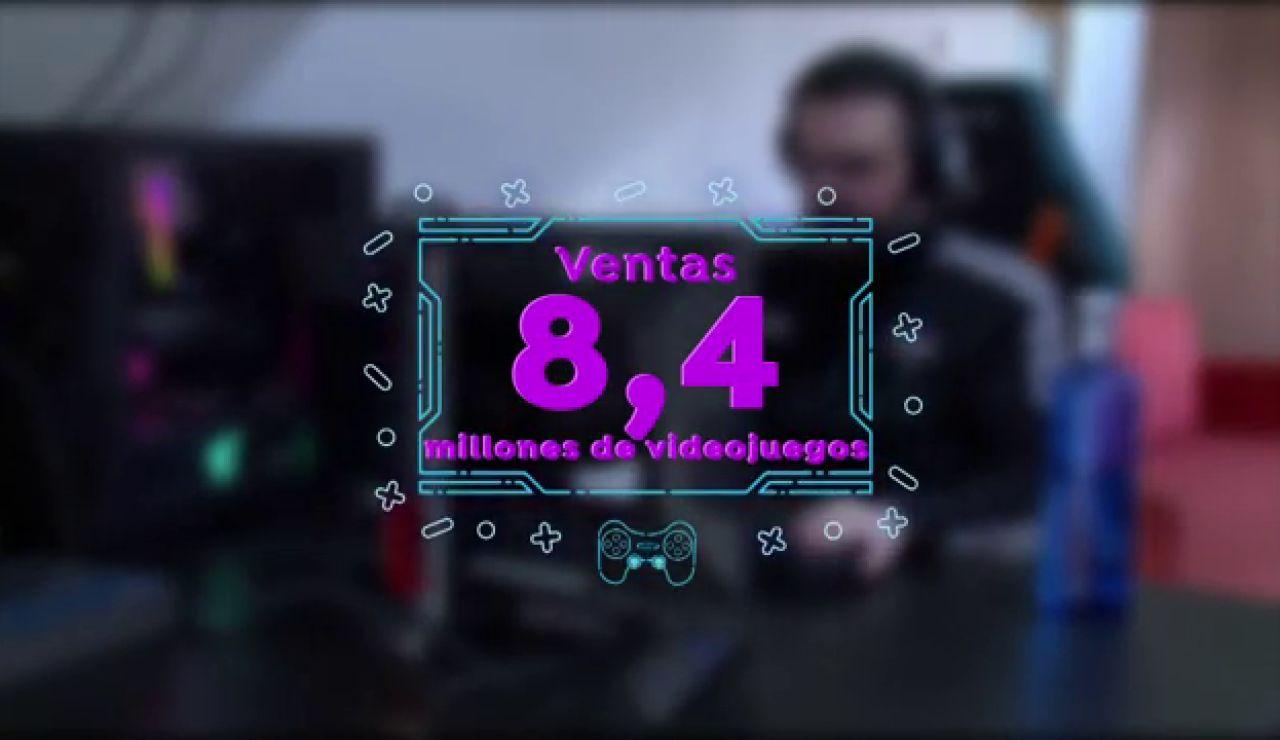 El sector del videojuego en datos durante la pandemia: casi 16 millones de jugadores en 2020