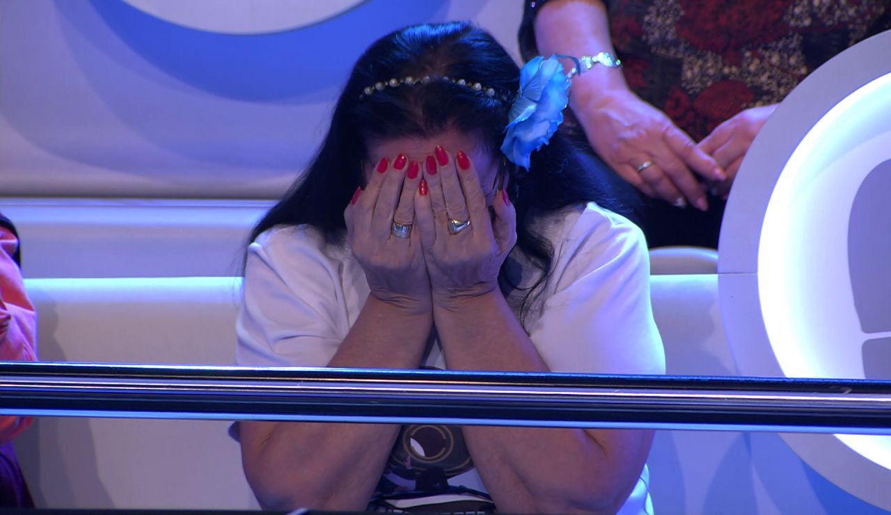¡Lo que le dio, se lo quitó! Una mujer del público elige huella por Borja y lo pierde todo en '¡Ahora caigo!'