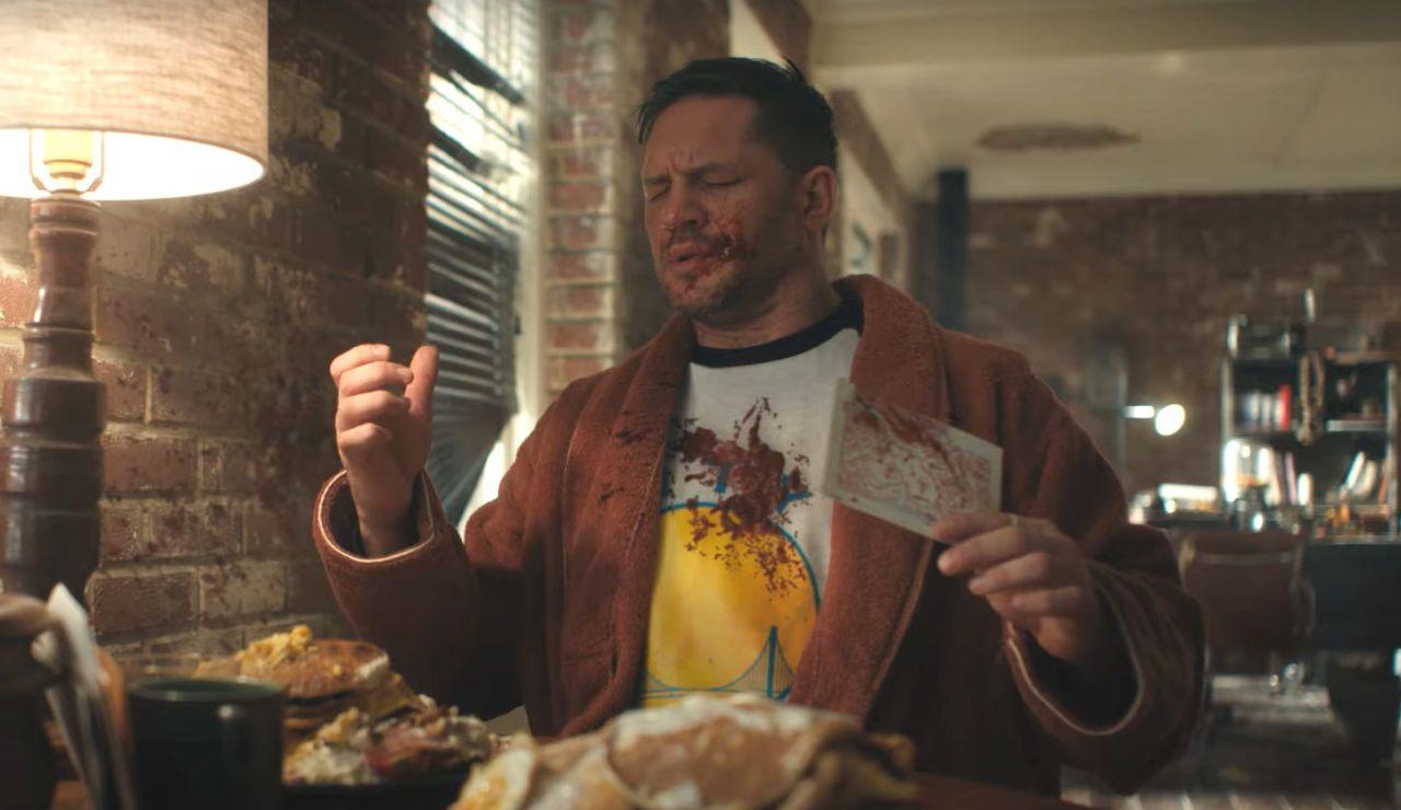 Tom Hardy en 'Venom: Habrá matanza'