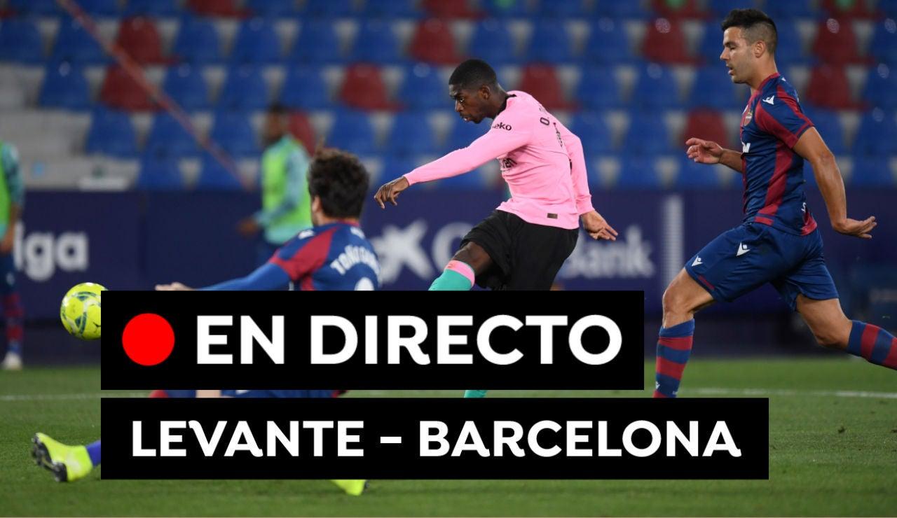 Levante - Barcelona: Resultado, resumen y goles de Liga Santander, en directo