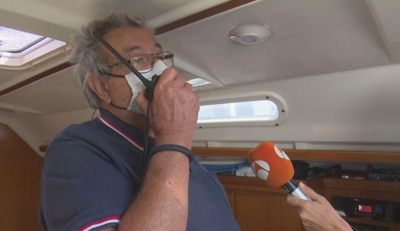 Capitán de barco en Tenerife