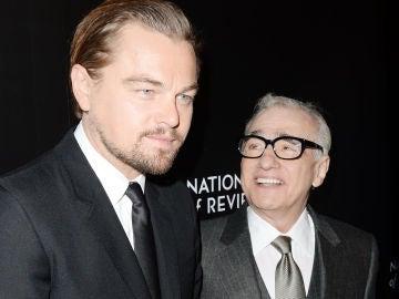 Leonardo DiCaprio y Martin Scorsese