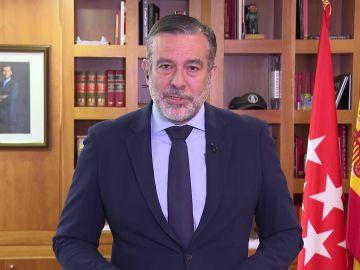"""Espejo Público (11-05-21) Enrique López, sobre los botellones en Madrid: """"Nuestros servicios jurídicos nos aconsejaron no restringir la movilidad nocturna"""""""