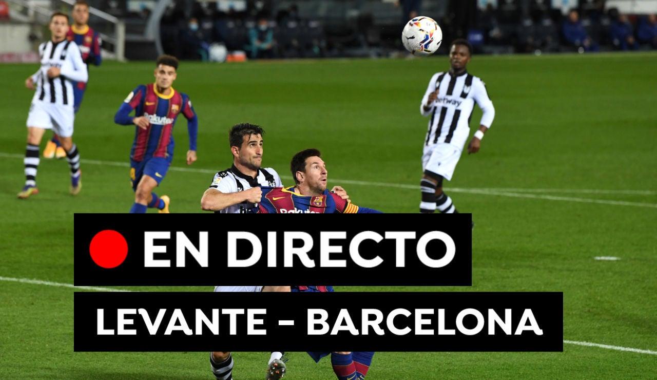 Levante - Barcelona: Partido de fútbol de Liga Santander hoy, en directo