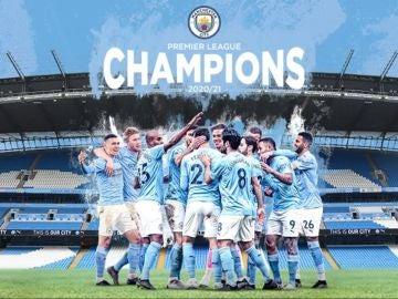 El Manchester City conquista la séptima Premier League de su historia
