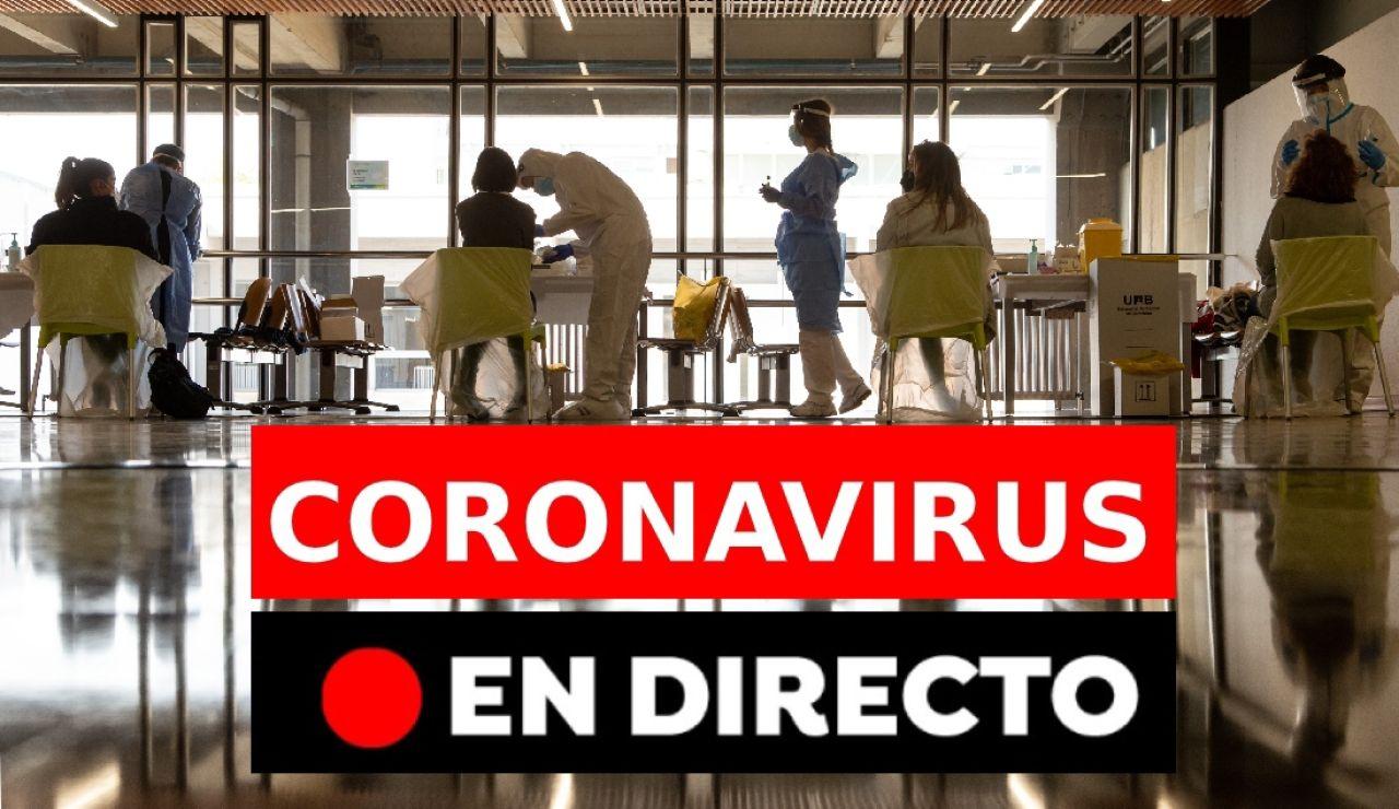Coronavirus España:Última hora de vacunas, toque de queda y más restricciones sin estado de alarma, en directo