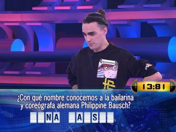 ¡Salvado por casualidad! Borja juega con el peligro en su programa 25 en '¡Ahora caigo!'