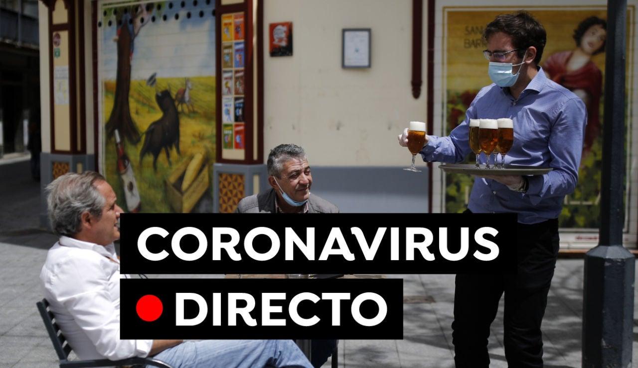 Nuevas restricciones, fin del estado de alarma y última hora del coronavirus en España hoy, en directo