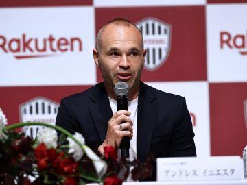 Iniesta anuncia su renovación con el Vissel Kobe el día de su 37 cumpleaños