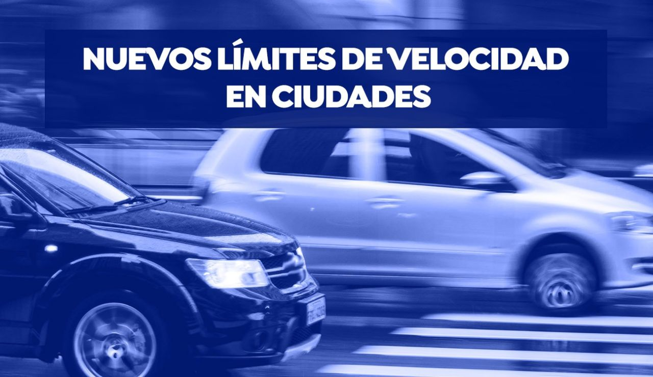 Entran en vigor los nuevos límites de velocidad en ciudades, con un máximo de 30 km/h