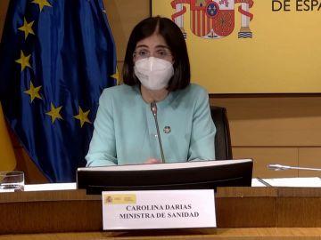 Carolina Darias afirma que el Plan de Recuperación permitirá crear una Unión Europea para la salud